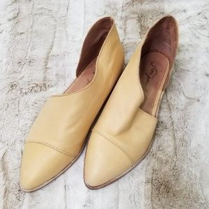 Free People Royale leather flat